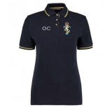 Reme Hockey Womans Contrast Polo - Nav..