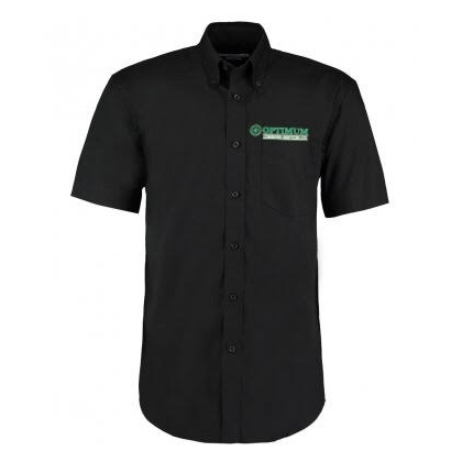 Optimum Combined K109 SHORT SLEEVE SHIRT BLACK