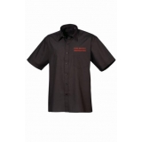 IST ATTENDANCE SHORT SLEEVE SHIRT BLACK