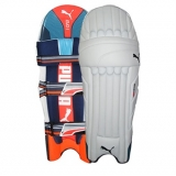 PUMA EVO 1 YOUTH BLUE BATTING PADS