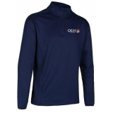 QEH I/4 ZIP MIDLAYER NAVY