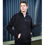PLC STAFF FLEECE JACKET BLACK
