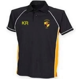 KRFC POLO SHIRT BLACK/AMBER