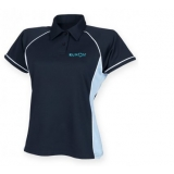 KUMON CONTRAST POLO SHIRT LADIES