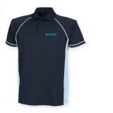 KUMON CONTRAST POLO SHIRT MENS