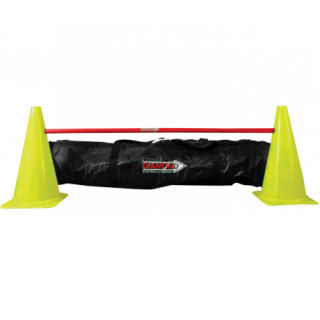 Diamond Traffic Cone Pole Set