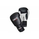 Cimac Leather Boxing Gloves - Black/Wh..