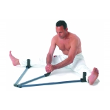 Metal Heavy Duty Leg Stretcher - Blue