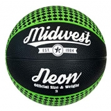 Midwest Neon Basketball Black/Green - ..