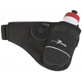 Precision Running Bottle Belt - Black