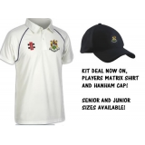Hanham CC Shirt & Cap Kit Package