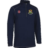 HANHAM CC 1/4 ZIP THERMO FLEECE - GRAY..
