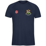 HANHAM CC MATRIX T-SHIRT SENIOR - GRAY..