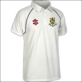 HANHAM CC MATRIX SHIRT JUNIOR - NAVY T..