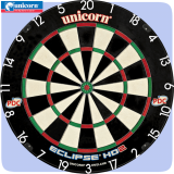 Unicorn Eclipse HD2 Bristle Dartboard ..