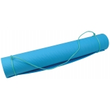 UFE 4mm One-Layer TPE Yoga Mat Blue 18..