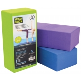 Fitness-Mad Hi-density Yoga Brick 220x..