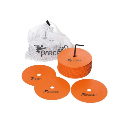 Precision Round Rubber Marker Discs Set of 20