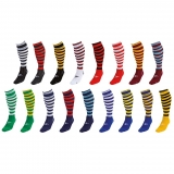 Precision Hooped Pro Football Socks
