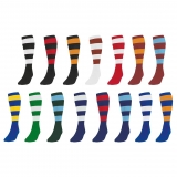Precision Hooped Football Socks