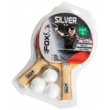 Fox Silver 2 Player Table Tennis Set