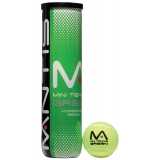 MANTIS Stage 1 Green Tennis Balls Tube..
