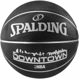 SPALDING BASKETBALL DOWNTOWN BLACK - S..
