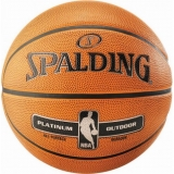 SPALDING BASKETBALL NBA PLATIMUM OUTDO..