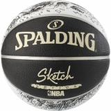 SPALDING BASKETBALL NBA SKETCH SWOOSH ..