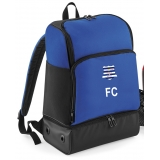 LSYFC Royal Blue Hardbase Sports Backp..