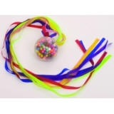 Ribbon Ball With Beads