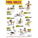 Pool Rules No Dive Version