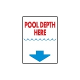 Informative Signs 300 x 400 x 2mm POOL..