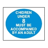 Directive Signs CHILDREN UNDER 8