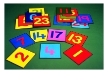 1-24 Number Squares