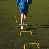 Step Training Hurdles - Soccer Trainin..