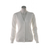 Ladies Ribbed Cardigan