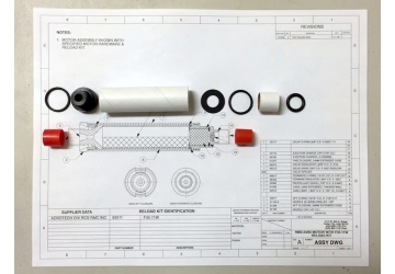 24/60 EMK™ Model Rocket Experimental Motor Kit-Medium Throat