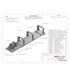 Horizontal Test Stand Drawing Package