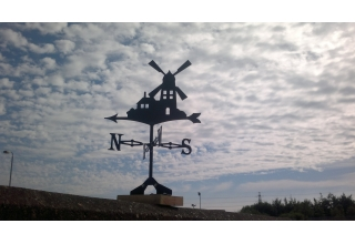 Windmill Weathervane