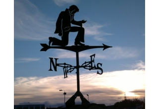 Elvis weathervane `The King`