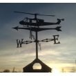 Huey Helicopter Weather vane