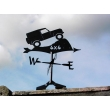 Land Rover off roader 4X4 weather vane