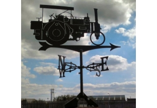 McLaren Steam Engine, locomotive weathervane