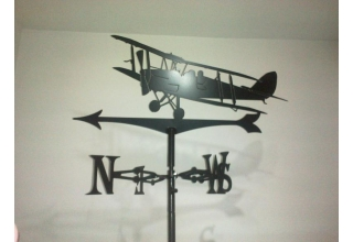 Tiger Moth Weathervane