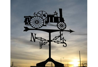 Traction Engine Weathervane
