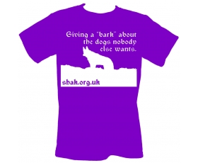 Giving A Bark T Shirts.....