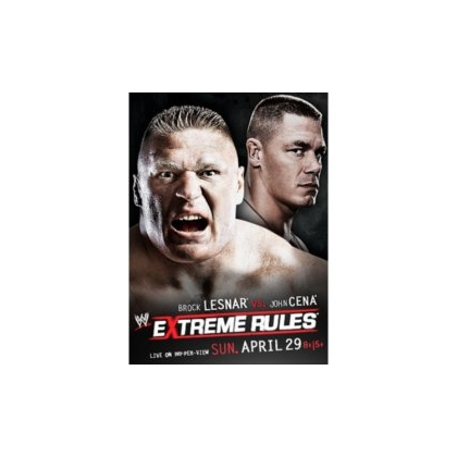 WWE Extreme Rules 2012 DVD