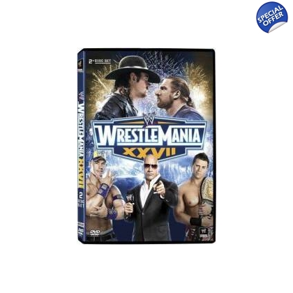 WWE WrestleMaina 27 DVD