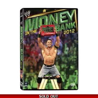 WWE Money In The Bank 2012 DVD